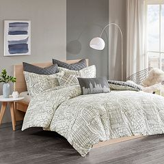 Urban Habitat Hudson Reversible 7-piece Duvet Cover Set