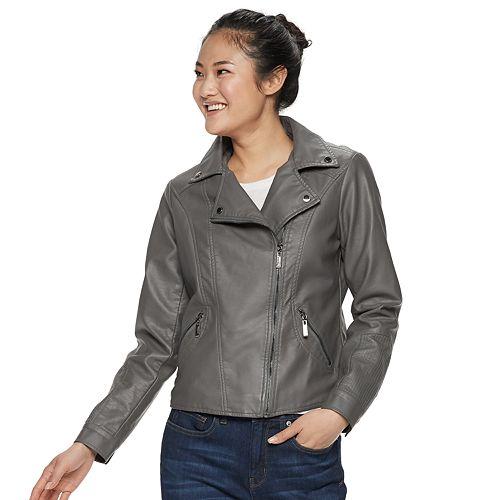 b14e4ffa5 Juniors' J2 Faux Leather Moto Jacket