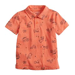 Toddler Boy Jumping Beans® All Over Graphic Polo