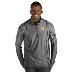 Men's Antigua Michigan Wolverines Tempo Pullover