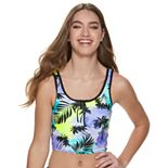 Juniors' ZX Sport Adventure Crop Bikini Top