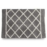 One Home Brand Diamond Tile Bath Rug