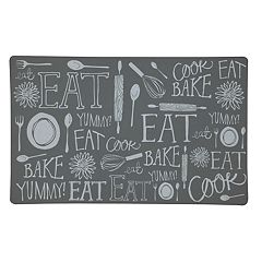 Mohawk® Home Comfort Handlettered Kitchen Kitchen Mat - 18'' x 30''