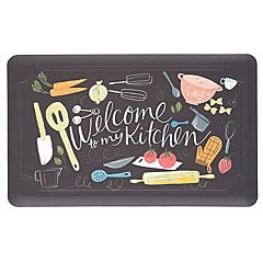 Mohawk® Home Comfort Welcome to My Scattered Kitchen Kitchen Mat - 18'' x 30''