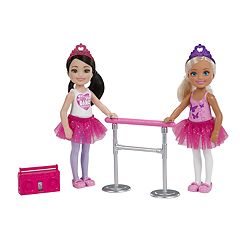 Barbie Club Chelsea 2-Doll Ballet Set