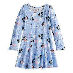 Disney's Minnie Mouse Girls 4-12 Glittery Princess Seam Dress by Jumping Beans®