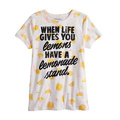 b68343d1c7fd Girls 7-16 & Plus Size Mudd® Short Sleeve Graphic Tee