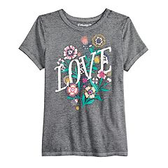 Girls 7-16 & Plus Size Mudd® Short Sleeve Graphic Tee