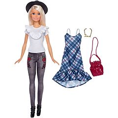 Barbie Fashionistas Denim Floral Doll