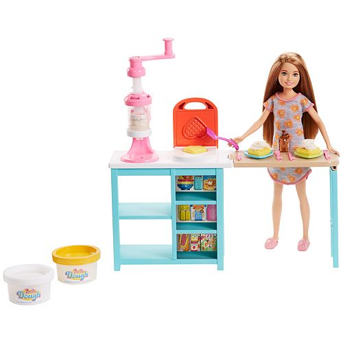 Barbie Stacie Doll and Breakfast Playset