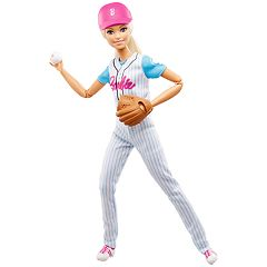 Barbie Baseball Player Doll