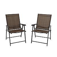 2-Pc SONOMA Goods for Life Coronado Folding Patio Bistro Chair Deals
