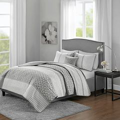 Madison Park Christian 4-piece Jacquard Coverlet Set