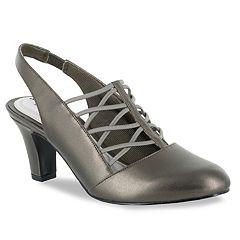Easy Street Berry Women's Slingback High Heels