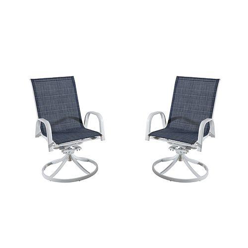 Sonoma Goods For Life Coronado Patio Swivel Chair 2 Piece Set