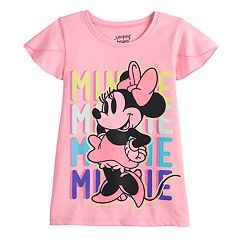 Disney's Minnie Mouse Girls 4-12 Flutter Sleeve Graphic Tee by Jumping Beans®