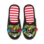 Women's Dearfoams Holiday Novelty Scuff Slippers