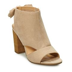 db9bd0b80832 LC Lauren Conrad Nutmeg Women s High Heel Ankle Boots