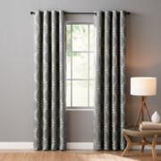 Sonoma Goods For Life Ultimate Performance 100% Lindley 2-pack Embroidered Blackout Window Curtain