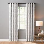 Sonoma Goods For Life® Ultimate Performance 100% Lindley 2-pack Embroidered Blackout Window Curtain