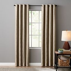 Sonoma Goods For Life Ultimate Performance 100% Geo 2-pack Woven Blackout Window Curtain