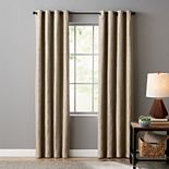 Sonoma Goods For Life® Ultimate Performance 100% Blackout Woven Geo 2-pack Window Curtain