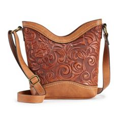 Concept Botanica Floral Tooling Crossbody