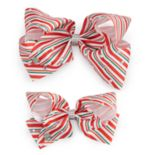 Girls 4-16 JoJo Siwa Peppermint Striped Hair Bow & Matching Doll Hair Bow
