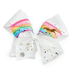 Girls 4-16 JoJo Siwa Unicorn & Rainbow Hair Bow