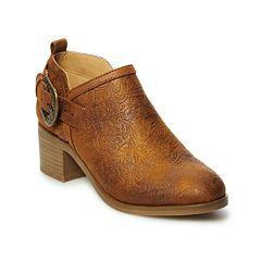 SONOMA Goods for Life™ Etching Women's Ankle Boots