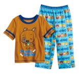 Toddler Boy Scooby Doo Top & Bottoms Pajama Set