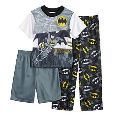Boys 10-4 Batman 3-Piece Pajama Set