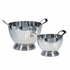 Epicurious 2-pc. Stainless Steel Colander Set