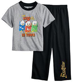 Boys 4-10 Disney Duck Tales 2-Piece Pajama Set
