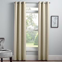 Croft & Barrow® 2-pack Embossed Trellis Window Curtains