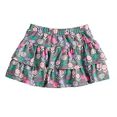 Toddler Girl Jumping Beans® Tiered Print Skort