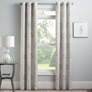 Croft & Barrow® 2-pack Naples Window Curtains