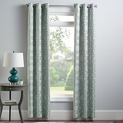 Croft & Barrow® 2-pack Greer Window Curtains
