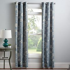 Croft & Barrow® 2-pack Jacbobean Window Curtains