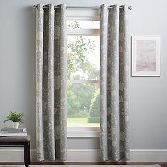 Croft & Barrow® 2-pack Jacbobean Window Curtains