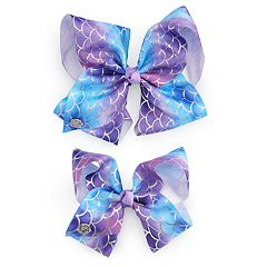 Girls 4-16 JoJo Siwa Mermaid Scale Hair Bow & Matching Doll Hair Bow