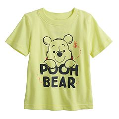 Disney's Winnie the Pooh Baby Boy 'Pooh Bear' Softest Graphic Tee by Jumping Beans®