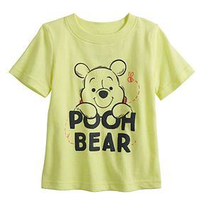 """Disney's Winnie the Pooh Baby Boy """"Pooh Bear"""" Softest Graphic Tee by Jumping Beans®"""