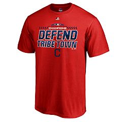Men's Cleveland Indians 2018 AL Central Division Champions Defend Tee