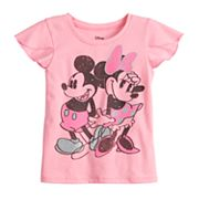 Disney's Minnie & Mickey Mouse Toddler Girl Graphic Tee by Jumping Beans®