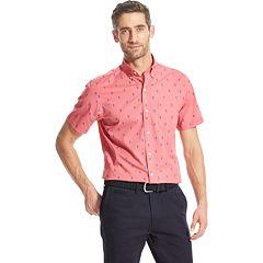 Men's IZOD Breeze Classic-Fit Button-Down Shirt