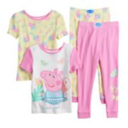 Toddler Girl Peppa Pig Tops & Bottoms Pajama Set
