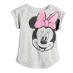 Disney's Minnie Mouse Toddler Girl Roll-Cuff Tee by Jumping Beans®