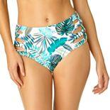 Juniors' California Sunshine Strappy High-Waisted Bikini Bottoms