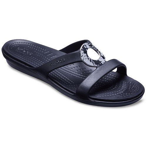 7a11b969a9909 Crocs Sanrah Women's Slide Sandals